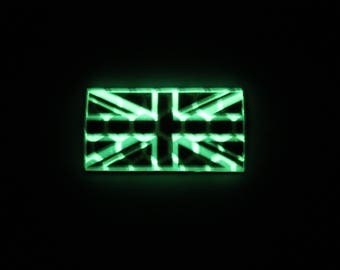 Glint Glow Union Jack Patch