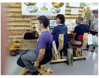 Ergonomic Chair rocker/Wheels