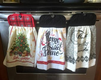 Kitchen hanging towel / kitchen towel / hanging towel