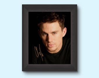 CHANNING TATUM Actor Signed (Pre-Printed) 8x10 Photo