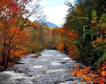 Fine Art Photography, Smokey Mountain Photography, Tennessee Photography , Rushing Water Photography, Fall Photography, Fall Prints,