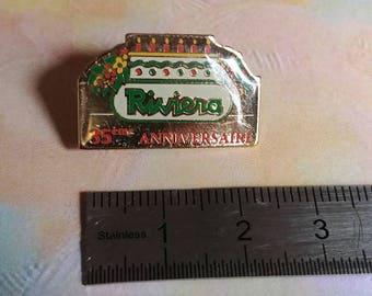 Enamel pin Vintage River 35th anniversary pins