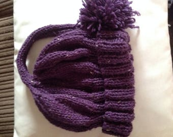 Hand Knitted Woolly Hats