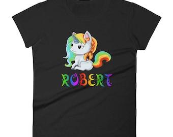 Robert Unicorn Ladies T-Shirt