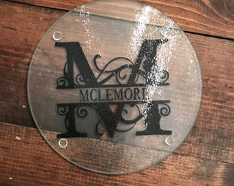 Monogramed Cutting Boards