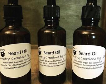 Beard Oil (All Natural)