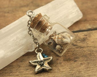 Seashell Bottle Pendant