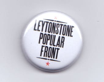Leytonstone Popular Front button badge