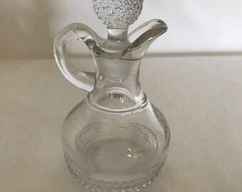 Petite Oil and Vinegar decanters