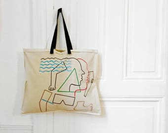 """Tote Bag """"and if you loved..."""" #2"""