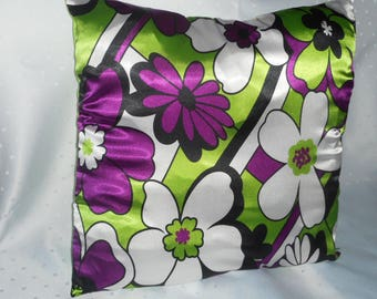 Decorative pillow case for turning; 45 x 45 cm; with zipper