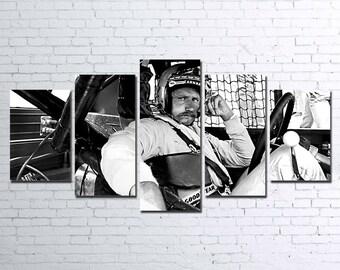 Dale Earnhardt 5pc Wall Canvas