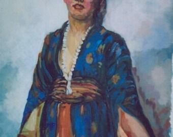 An Oriental Girl