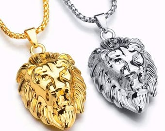 Hiphop Lion Necklace