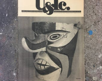 U&lc Magazine Volume 10 Number 3 September 1983 - great condition - vintage design magazine