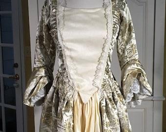 Pirates of the Caribbean Dress, Marie Antoinette Dress, 18th Century Dress