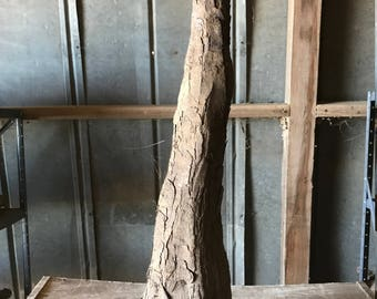 Natural Rough Cypress Knee with bark 21.5""