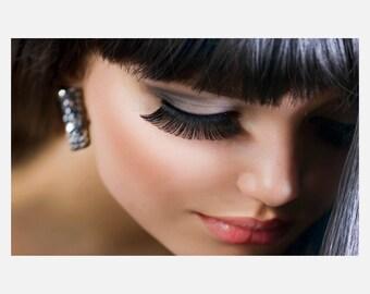 Beauty hair Salon Eyelash Poster or Canvas