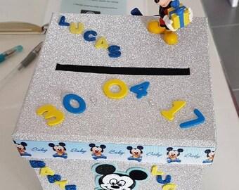 Urn baptism Mickey