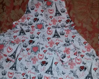 Valentine adult aprons