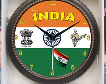 India Clock  Decor wall Clock