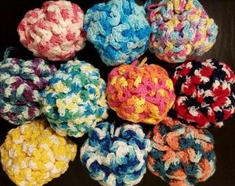 Large Crochet Bath Loofah