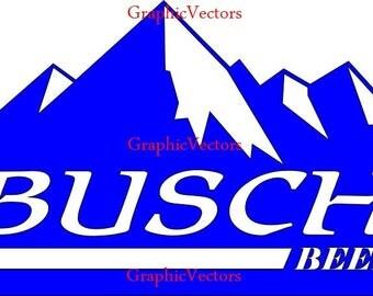 Busch Beer Vector Logo
