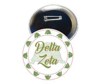 Delta Zeta Button - Sorority