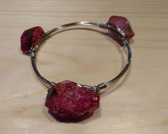 Rose Stone Bracelet