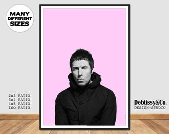 Liam Gallagher Poster, Liam Gallagher as you are print, Oasis poster, Oasis print, supreme supernova