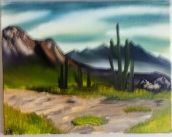 """Desert Valley II 16"""" x 20"""""""