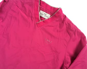 Vintage Balenciaga Windbreaker Jacket V Neck