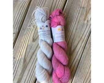 2 Skeins of Uncommon Thread Heavenly Lace