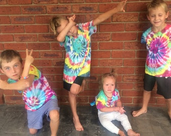 Tie Dye Shirts for Kids