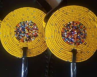 Maasai Manjano Sandals