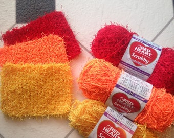 Knitted Scrubby