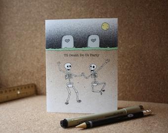 Wedding Party Celebrate Card