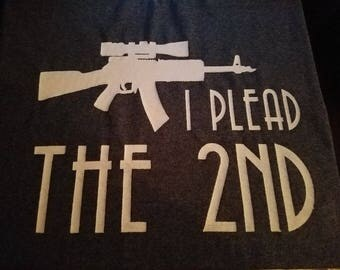 Men's T- Shirt ( I plead the 2nd