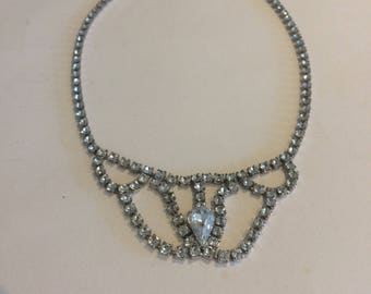 Beautiful Antique Art Deco 20s/30s Paste Necklace Vintage