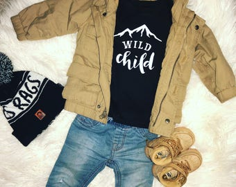 Toddler Wild child