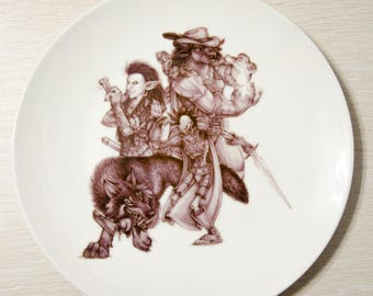 World of Warcraft Horde plate Warcraft plate Decorative plate Horde WOW art Warcraft Gift