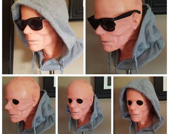 Kevin Bacon Hollow Man 1/1 life size fully finshed bust prop Universal Horror Invisible Man