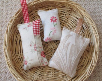 Lavender Sachet Trio - Nicely Neutral