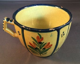Quimper Cup-Yellow Woman