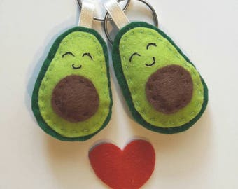 magnetized couple of Avocado