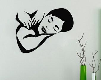 Wall Decal Window Sticker Beauty Salon Spa decal massage decal spa salon decals t90