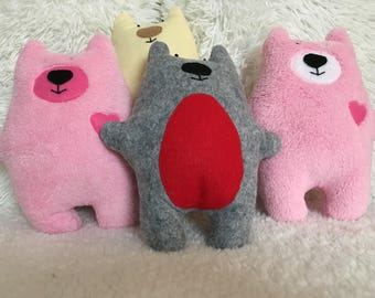 Stuffed animal huggy bear