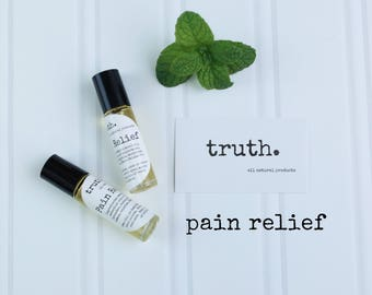 truth. pain relief