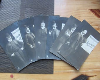 """Extra RARE humor joke  photo set """" Week of Lazy Man """"Imperial Russia 1900s"""
