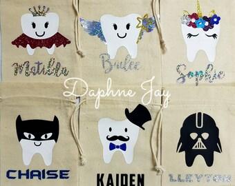 Personalised ToothFairy bags